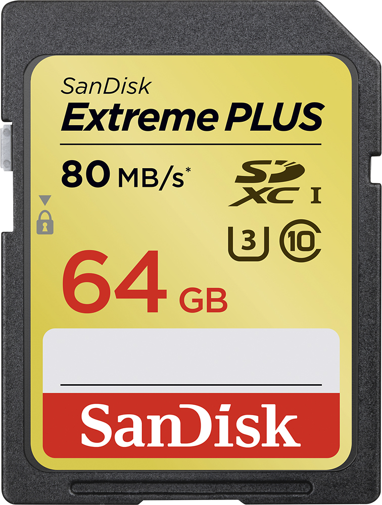 Sandisk Extreme Plus Memory Cards