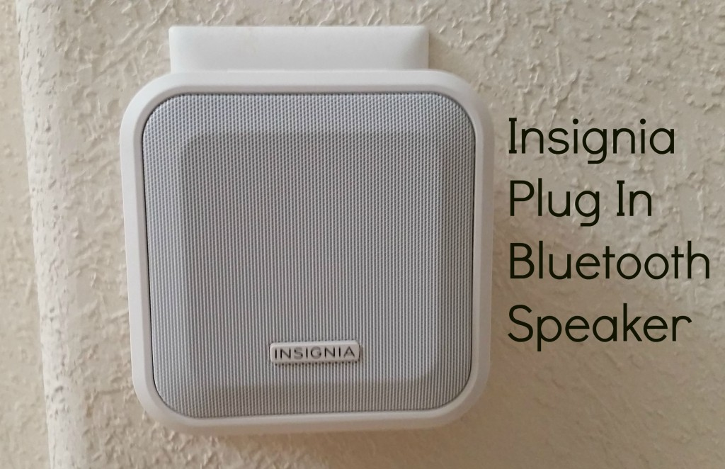Insignia Plug In Bluetooth Speaker