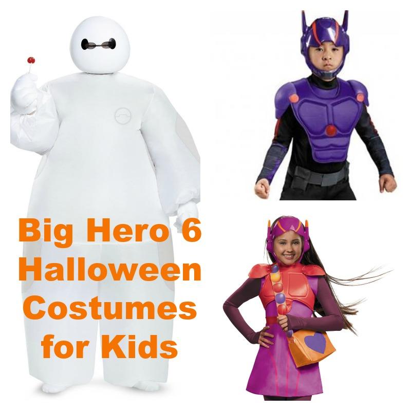 Big Hero 6 Halloween Costumes for Kids