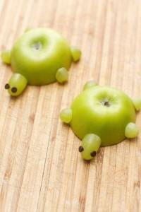 Green Healthy Apple Turtles
