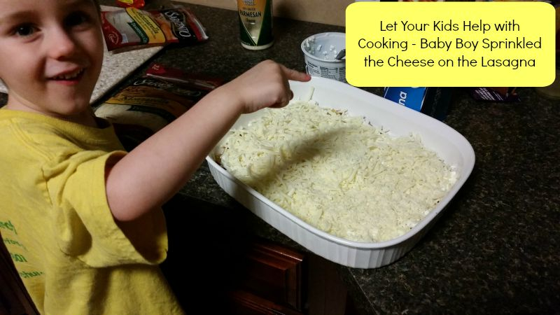 Let Your Kids Help in the Kitchen