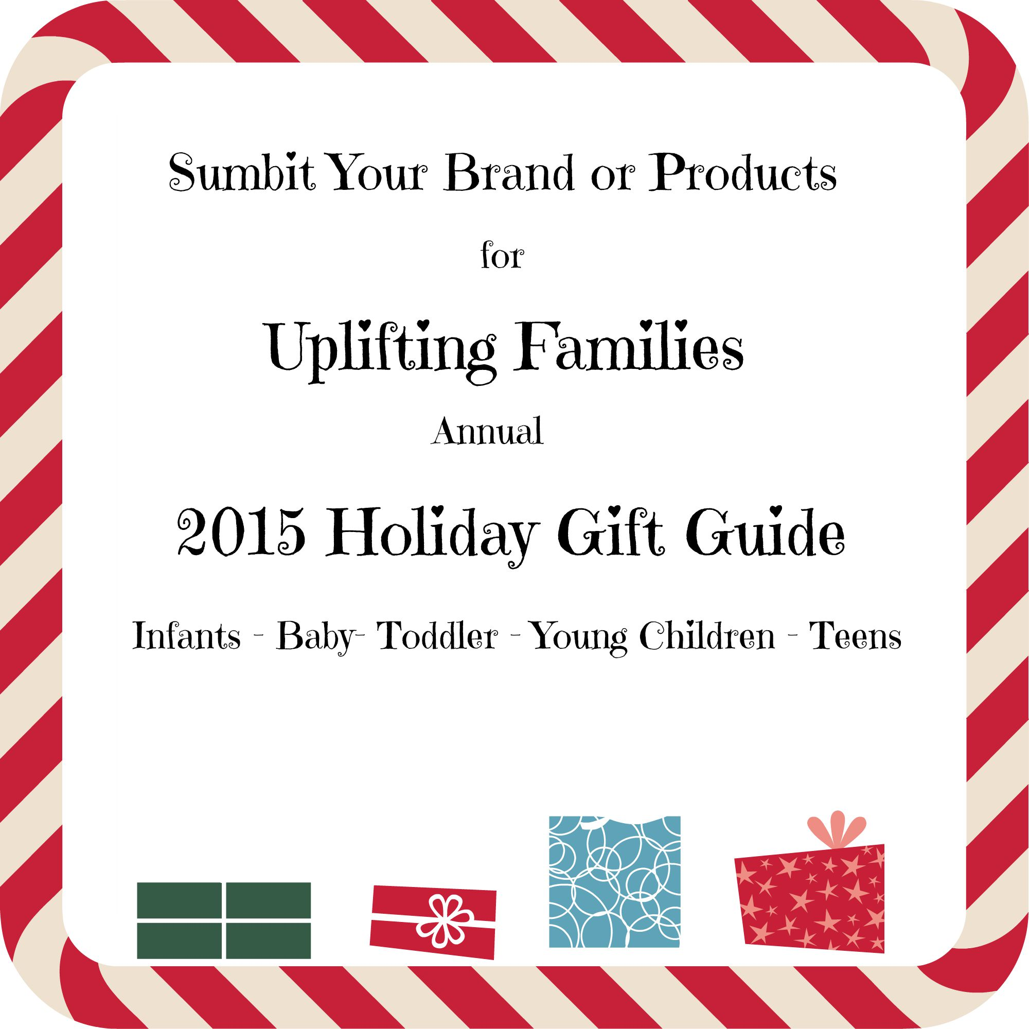 ifting Families Holiday Gift Guide 2015