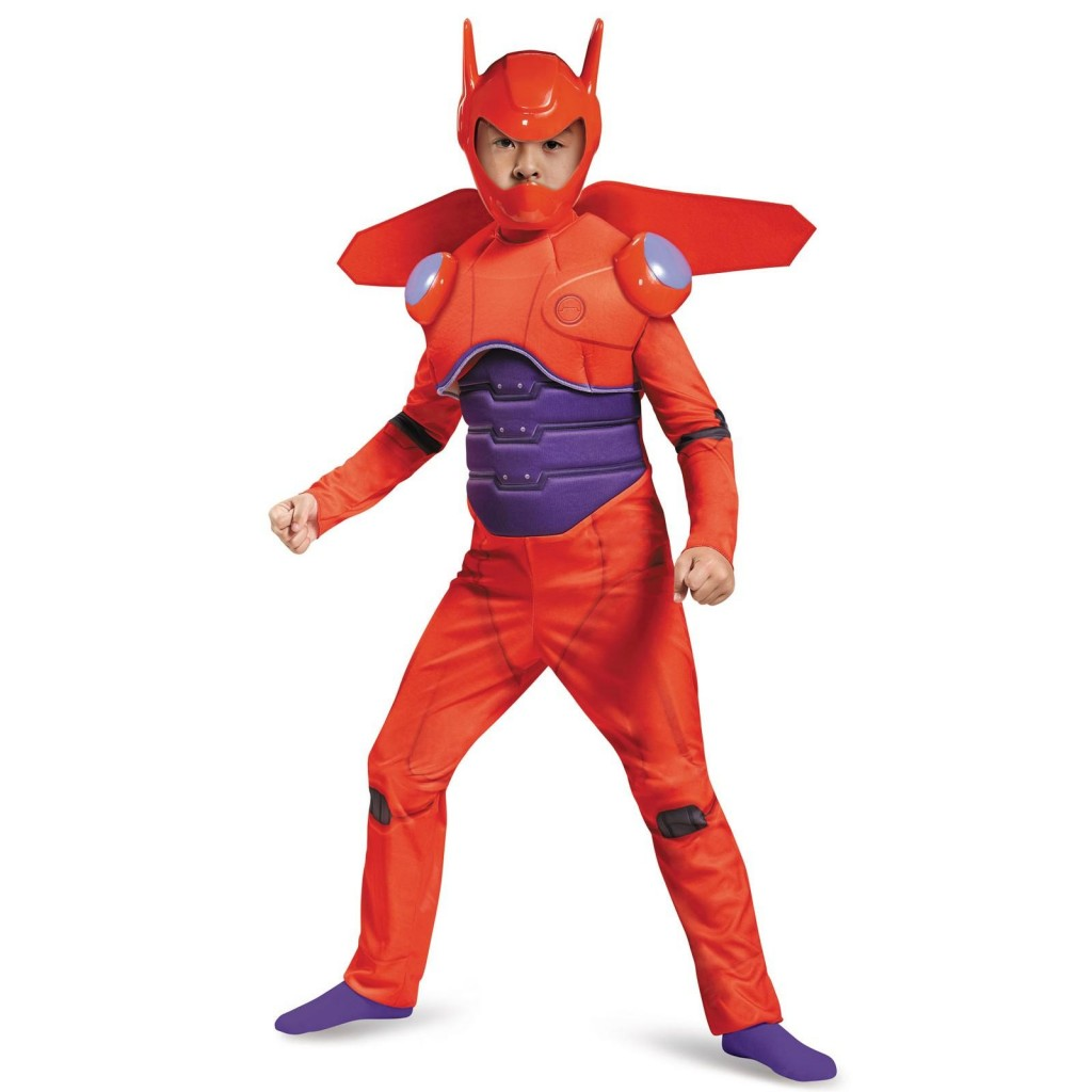big hero 6 baymax deluxe muscle costume