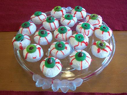 Donut Eyeballs Halloween