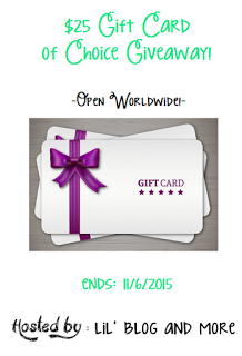 25 dollar gift card giveaway
