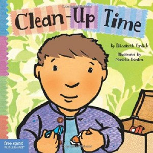 Clean-Up Time (Toddler Tools) by Elizabeth Verdict