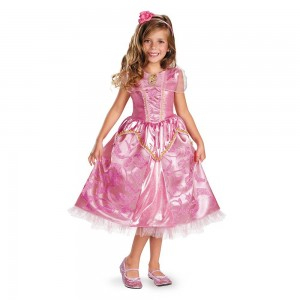 Disney Princess Sleeping Beauty Aurora Halloween Costume for Girls