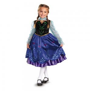 Disney Frozen Anna Halloween Costume for Girls