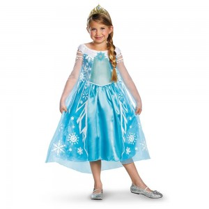 Disney Frozen Elsa Halloween Costume for Girls