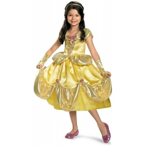 Disney Princess Belle from Beauty and Beast Halloween Costume for Girls