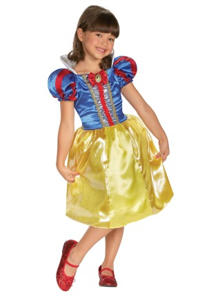 Disney Princess Snow White Classic Halloween Costume for Girls