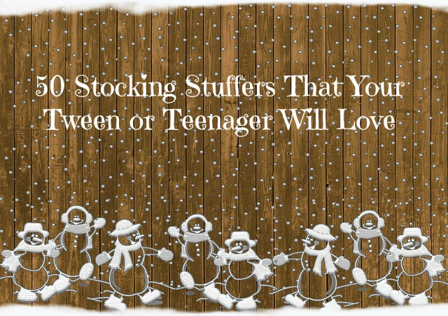 50 Stocking Stuffers That Your Tween or Teenager Will Love
