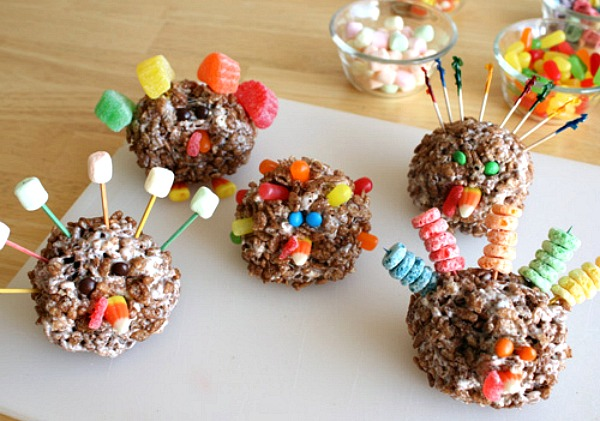 Edible Thanksgiving Turkey Treats
