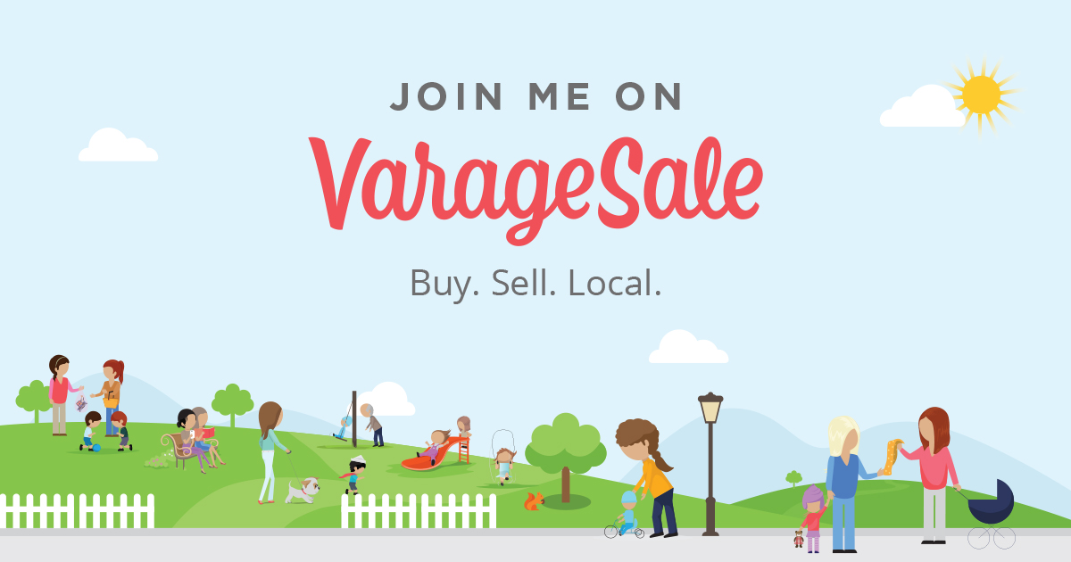 Join me on Varagesale