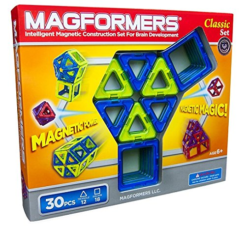 Magformers CLassic 30 piece set Review