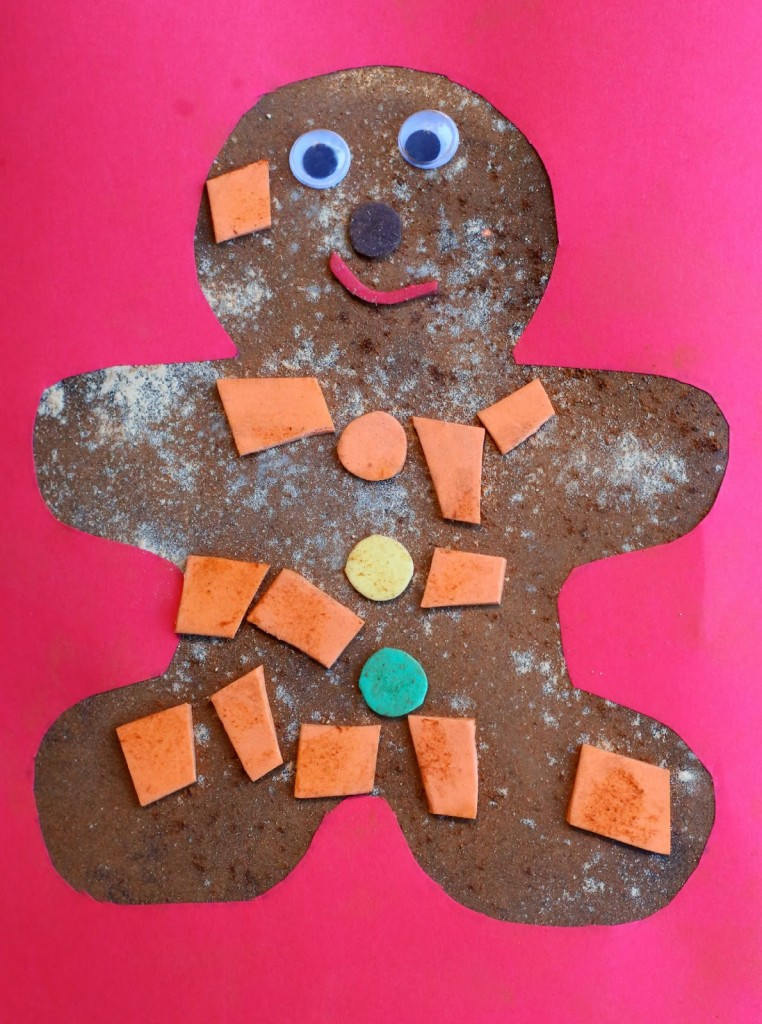Scented Gingerbread Man Art
