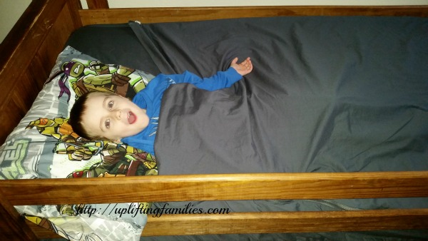 Zipper Sheets for Your Child's Twin Bed
