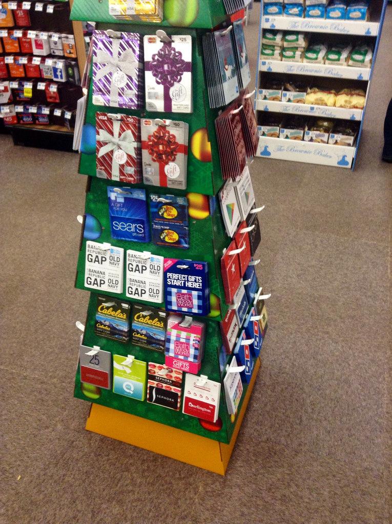 Gift Card Tree Idea Gift Ideas